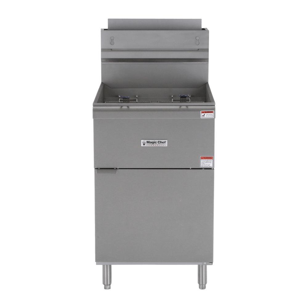Commercial 70 lb. Gas Fryer