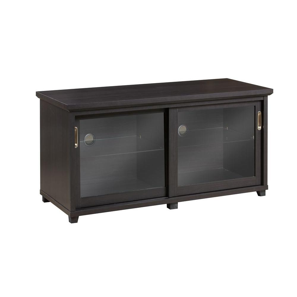 Inspirations by Broyhill Espresso Storage Entertainment Center