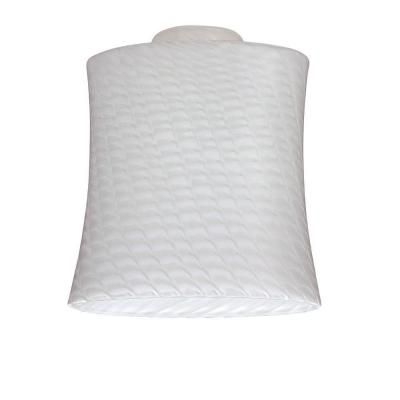5-7/8 in. Handblown Lunar Weave Shade with 2-1/4 in. Fitter and 5-3/8 in. Width