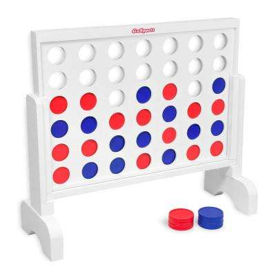 2 ft. Width Giant 4 in a Row Game with Carrying Case