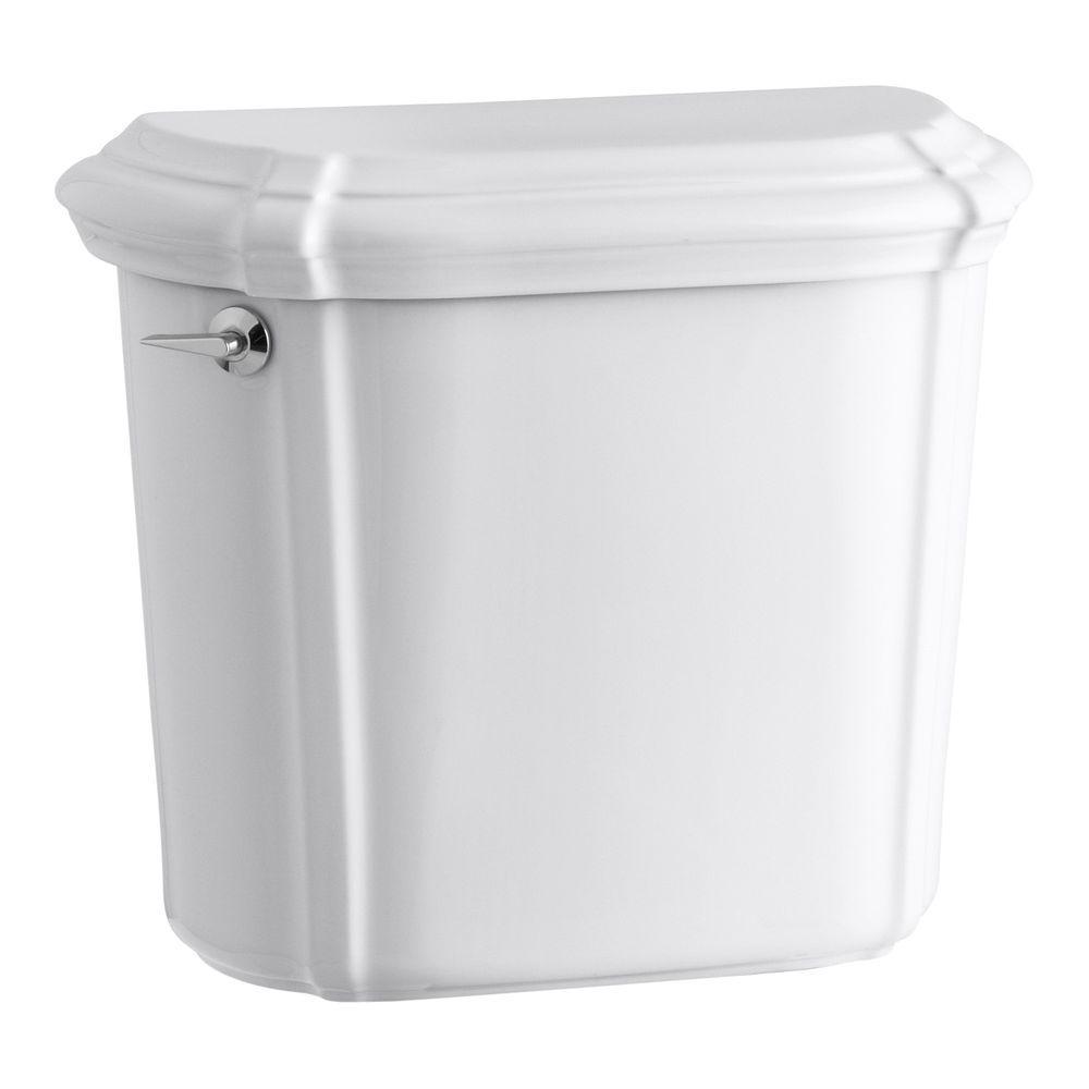 Portrait 1.6 GPF Single Flush Toilet Tank Only in White
