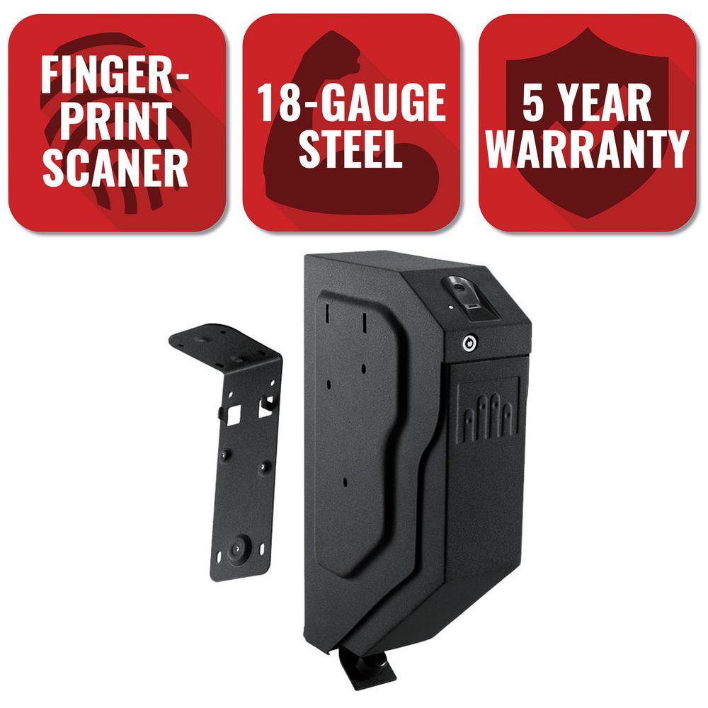 GunVault SpeedVault Biometric Handgun Safe with Fingerprint Reader