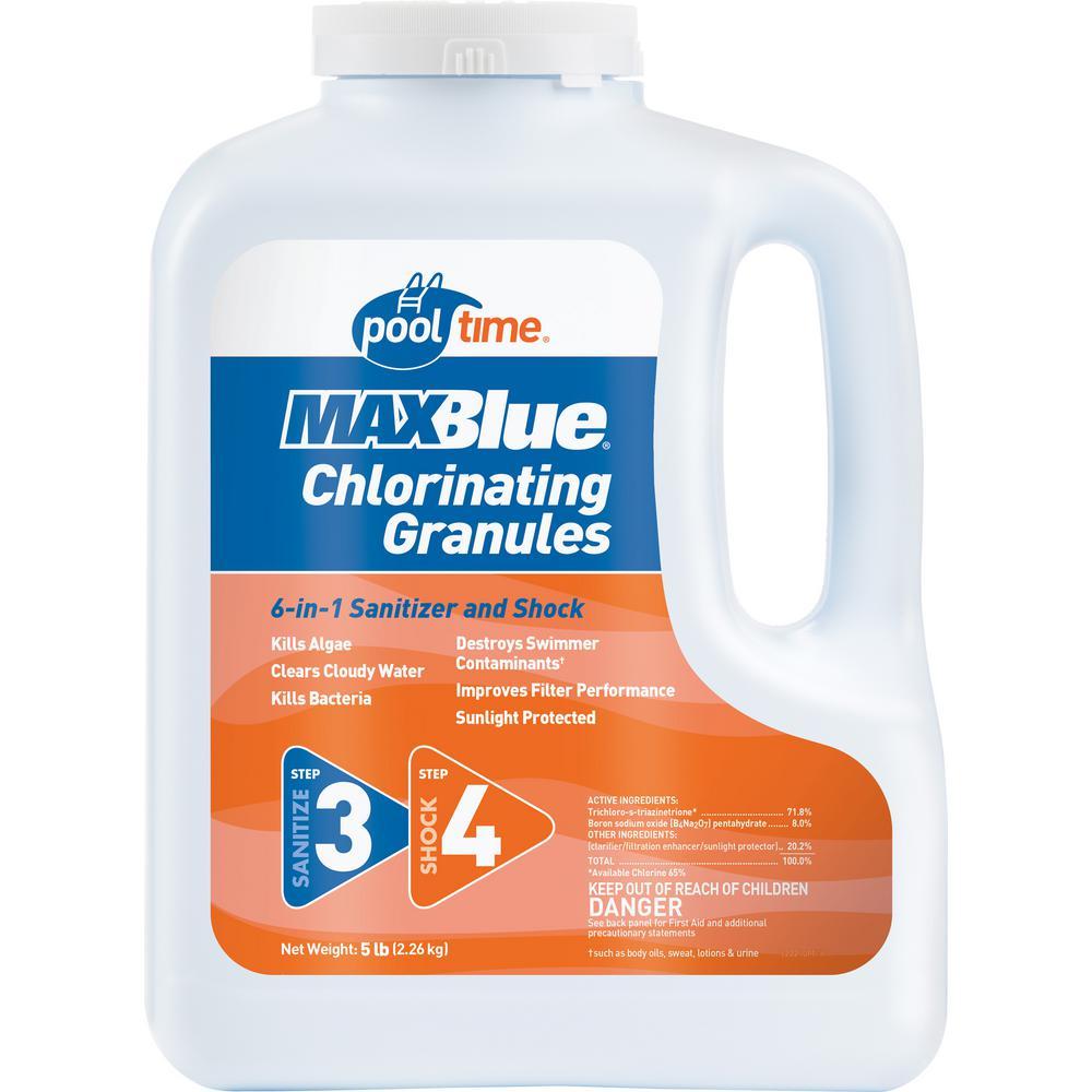 MAXBlue 5 lb. Chlorinating Granules
