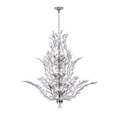Ivy 18-Light Chrome Chandelier