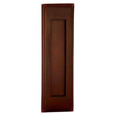 4000 Series 3.5 in. W x 11 in. H x 0.75 in. D Vertical Mail Slot in Antique Finish
