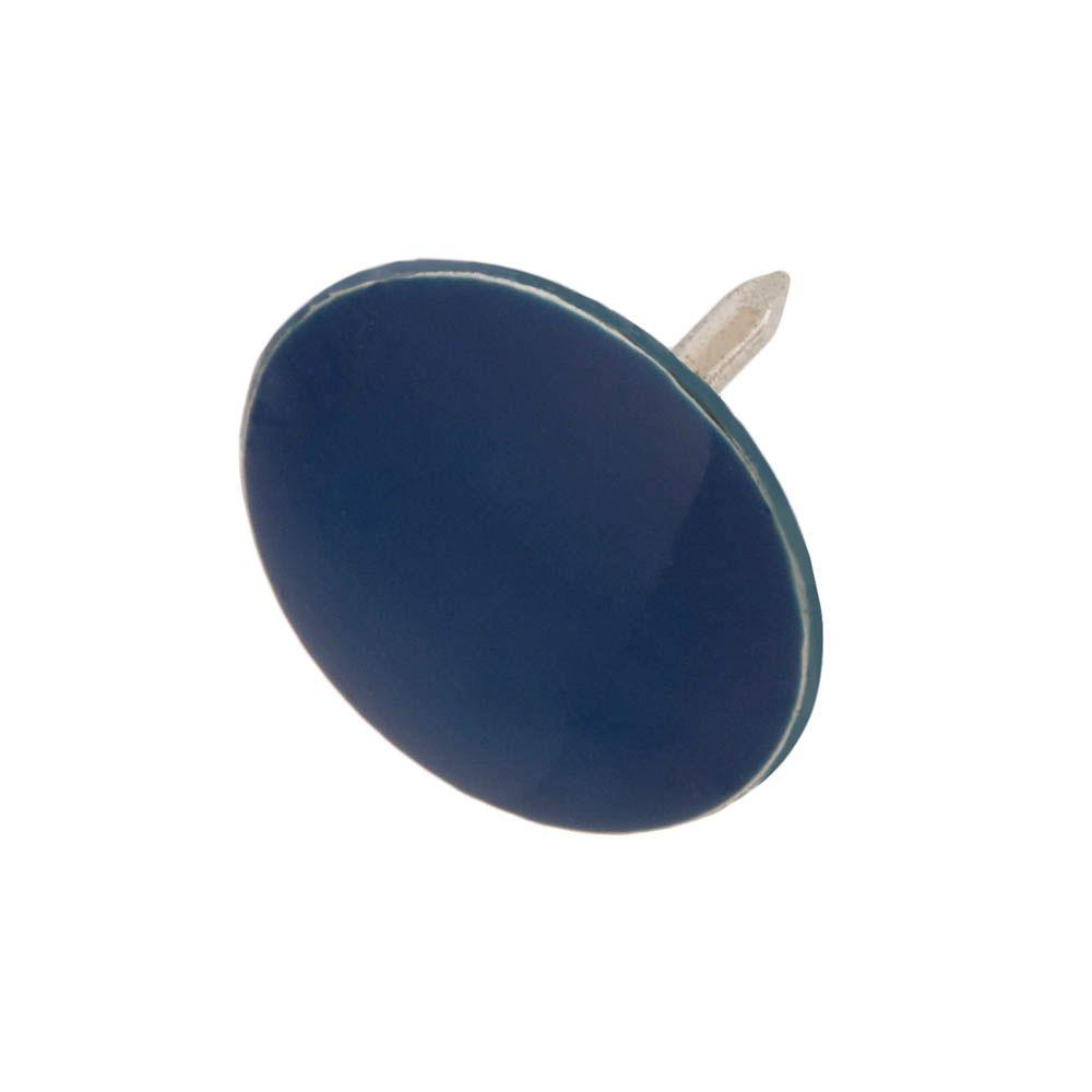 13 32 in blue thumb tacks 60 pack 801414 the home depot