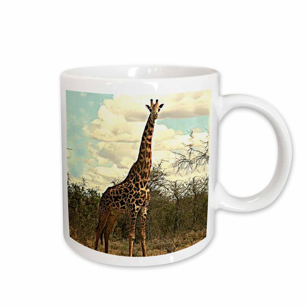 White Ceramic Giraffe Mug 678 1 The Home Depot
