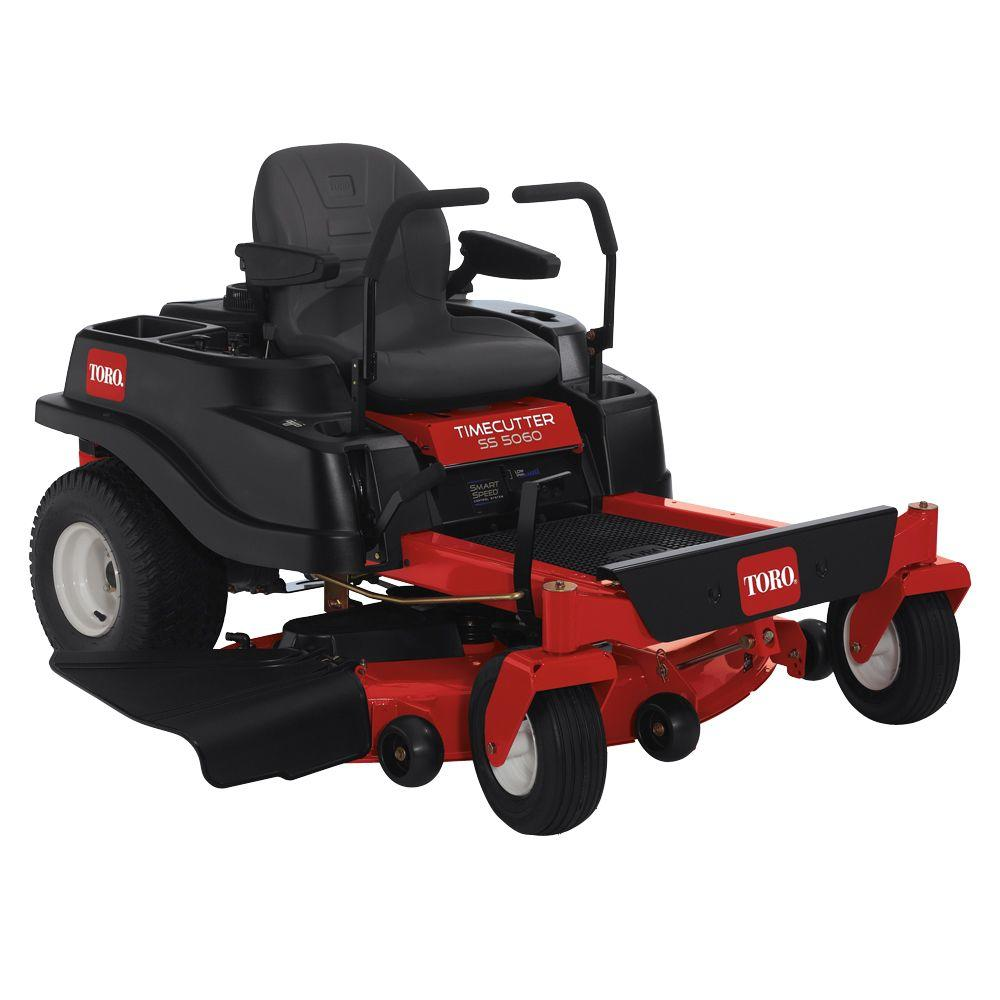Toro TimeCutter SS5060 50 in. 23-HP Kawasaki V-Twin Zero-Turn Riding Mower with Smart Speed