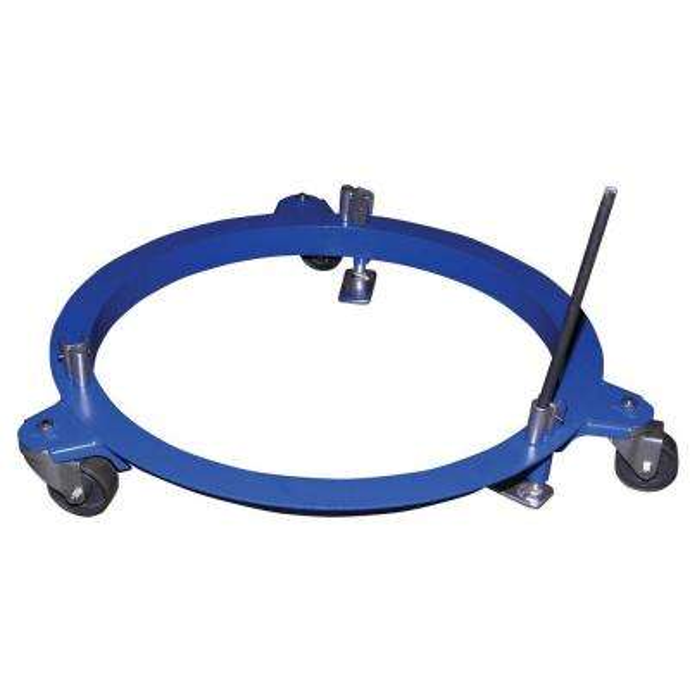 Vestil 750 lb. Capacity Mobile Drum Dolly Drum Halo