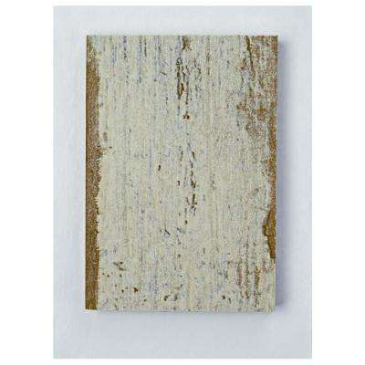 Retro Hex Blanc Porcelain Floor and Wall Tile - 3 in. x 4 in. Tile Sample