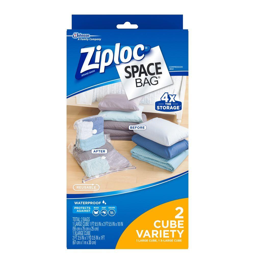 cc6c1d2aed Ziploc Space bags 1 Large
