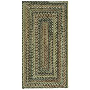 Capel Bangor Sage Green 3 Ft. X 5 Ft. Concentric Area Rug 0070QS03000500200    The Home Depot