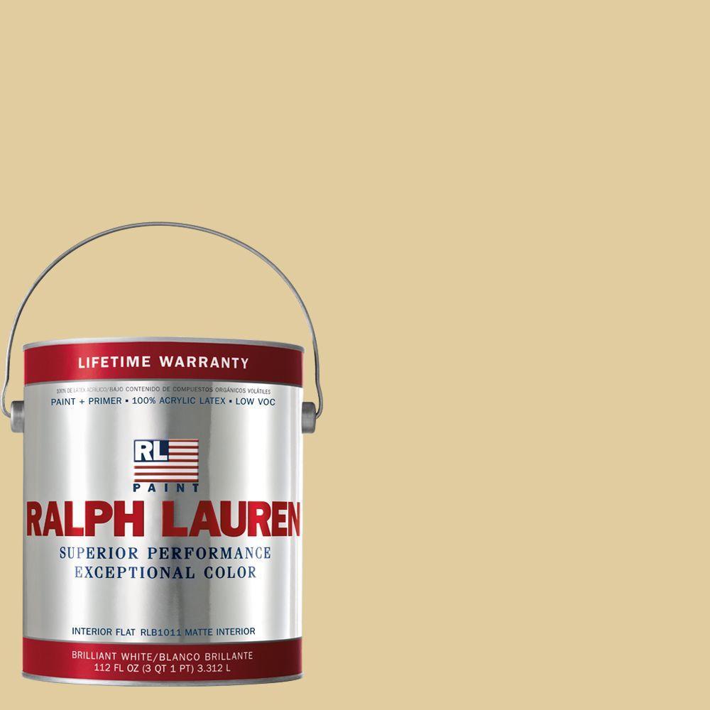 Ralph Lauren 1-gal. Lyford Yellow Flat Interior Paint