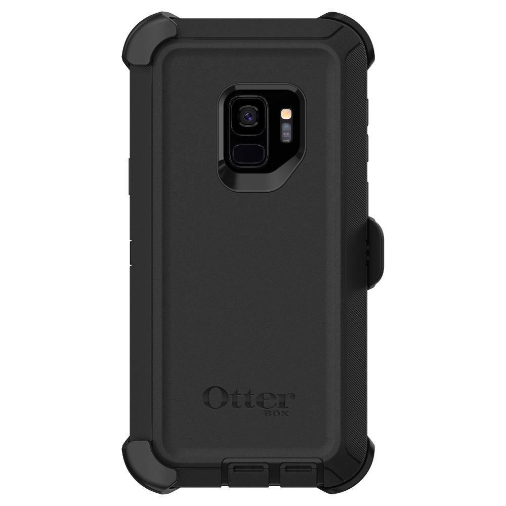 newest 902a4 05e86 OtterBox Samsung Defender Pro Galaxy S9 Black ATR-77-60568-PK2 - The ...