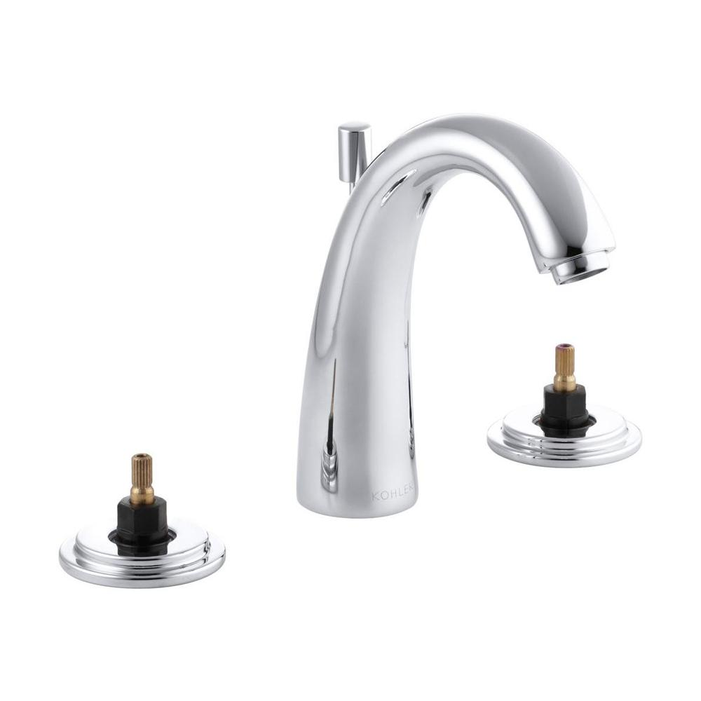 KOHLER Taboret 8 in. Widespread 2-Handle High-Arc Bathroom Faucet in Polished Chrome