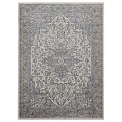 Clairmont Zadar Grey 12 ft. 6 in. x 15 ft. Area Rug