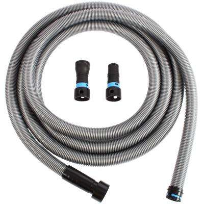 20 ft. Hose with Dust Collection Power Tool Adapters for Wet/Dry Vacuums
