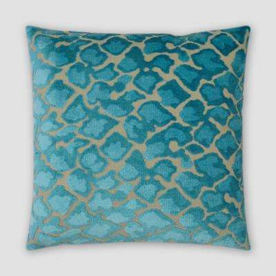 Swagger Laguna Feather Down 18 in. x 18 in. Standard Decorative Throw Pillow