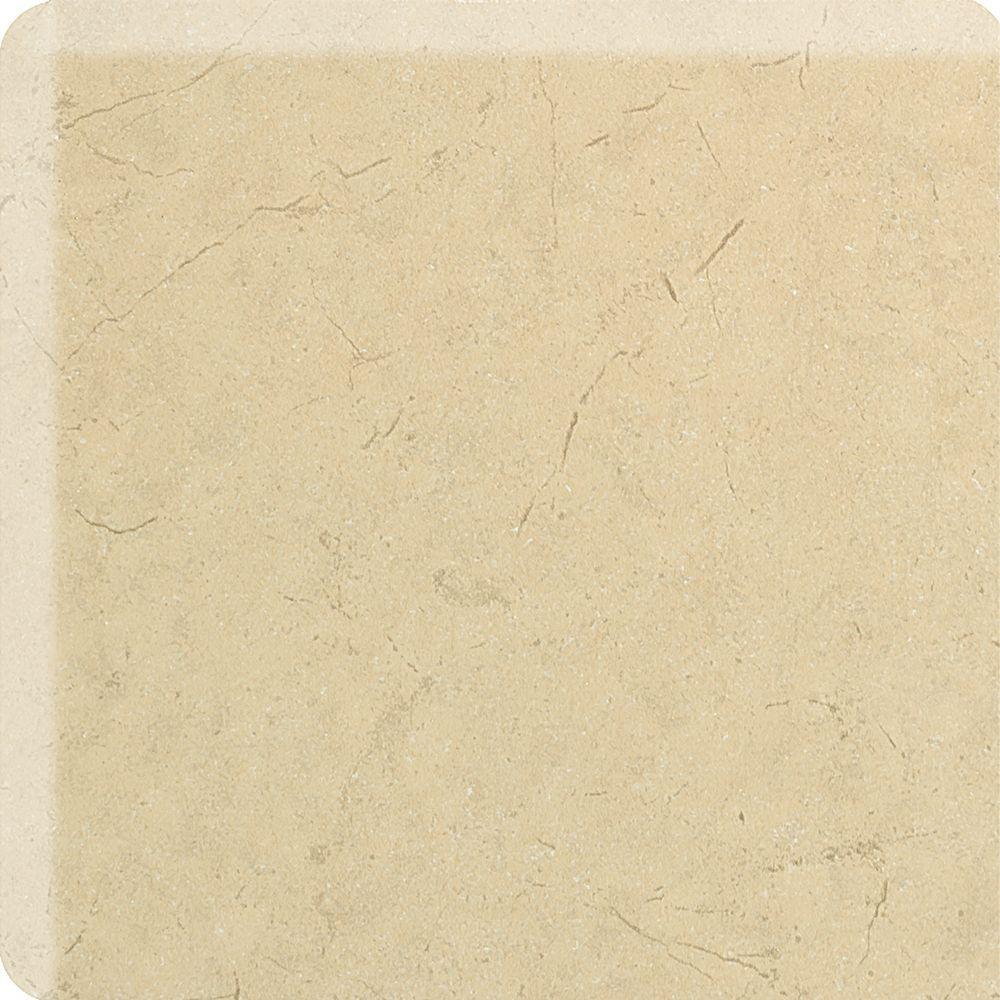 Marissa Crema Marfil 2 in. x 2 in. Ceramic Bullnose Corner Wall Tile