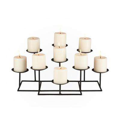 21.5 in. 9-Candle Candelabra Free Standing