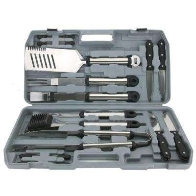 18 Piece Grilling Tool