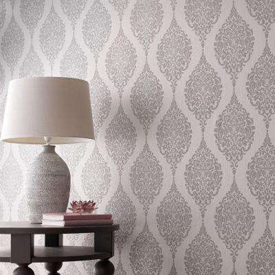 Textured Wallpaper Decor The Home Depot