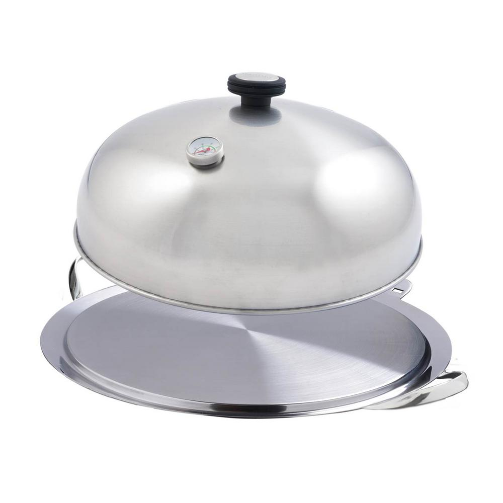 O'Plancha Stainless Steel Griddle and Cooking Lid Combo