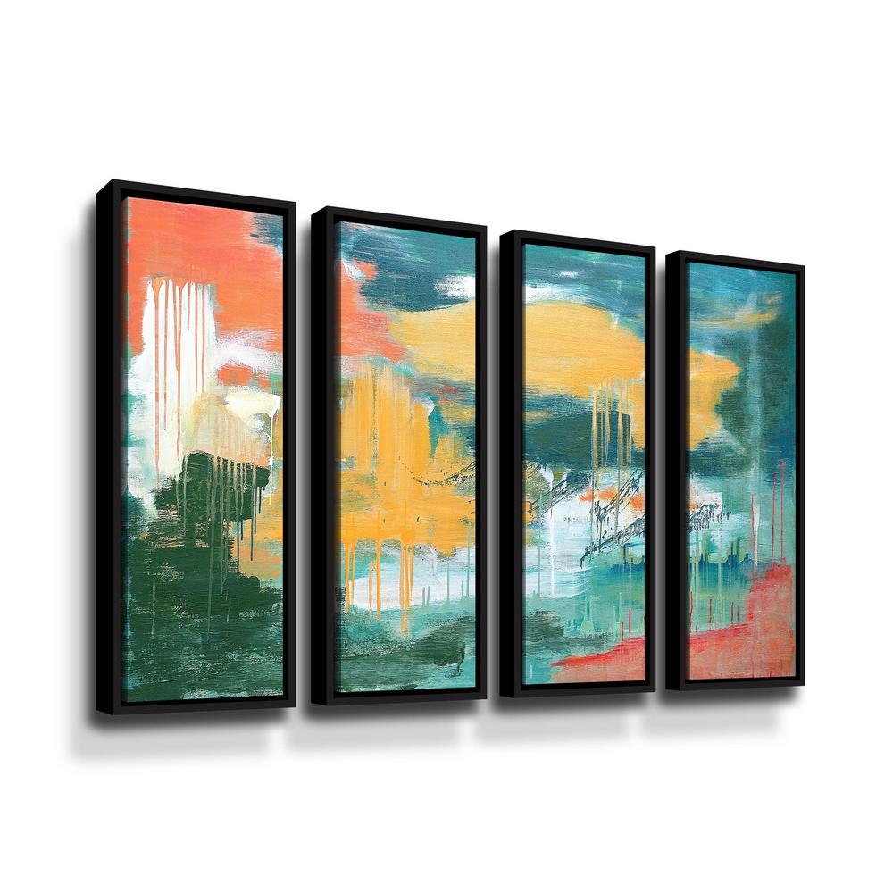 ArtWall Unveiling the sky' by Carolyn O'Neill Framed Canvas Wall Art