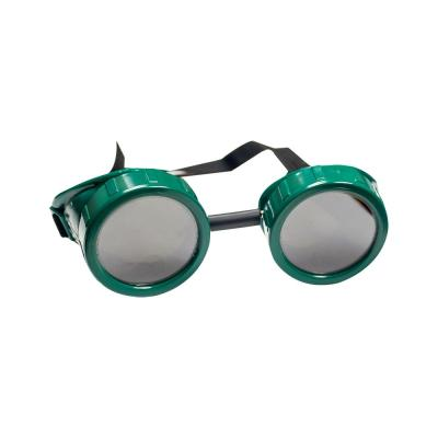 Green Cup-Style Brazing Goggles