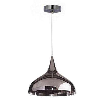 Minaret 1-Light Polished Nickel Pendant