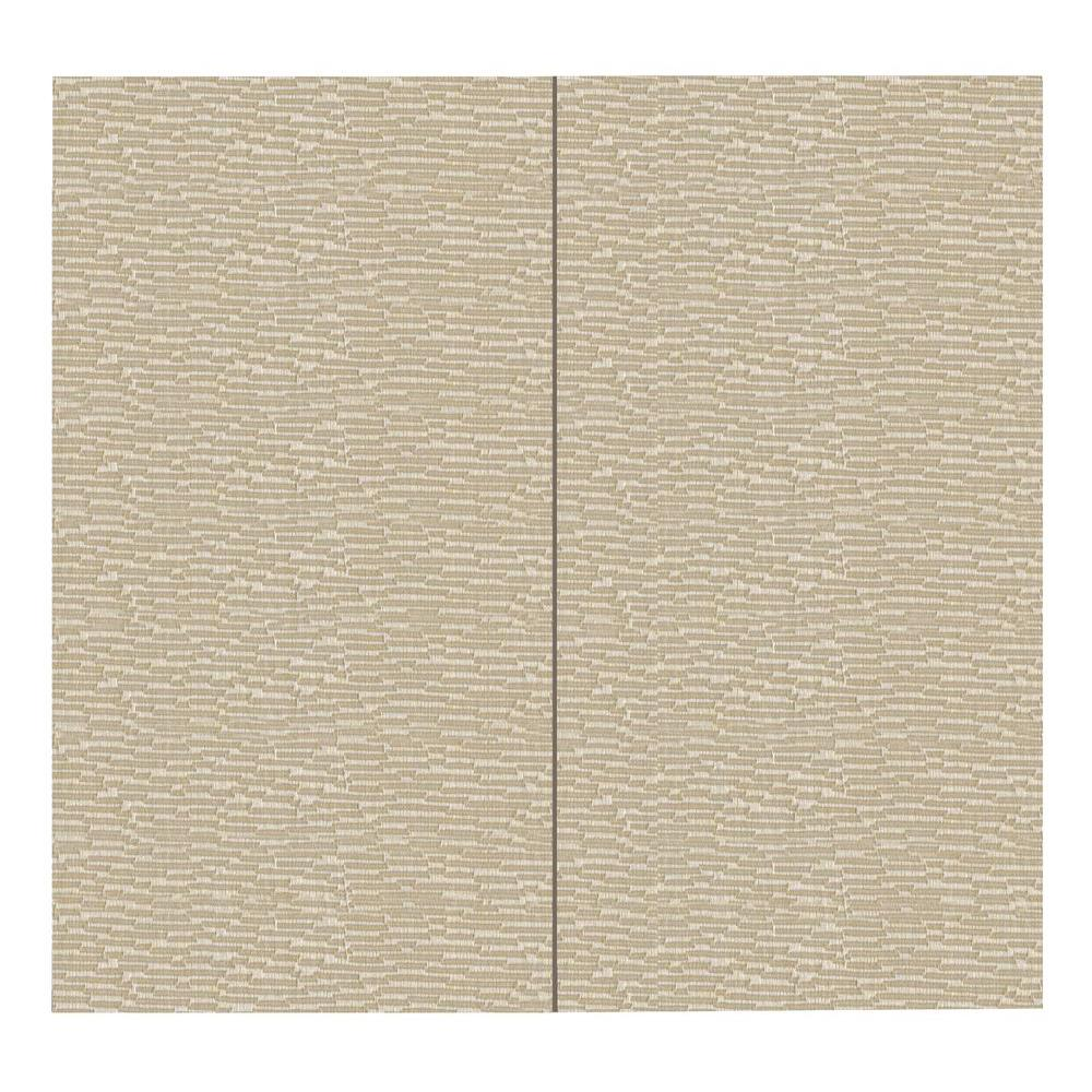 SoftWall Finishing Systems 64 sq. ft. Driftwood Fabric Covered Full Kit Wall Panel
