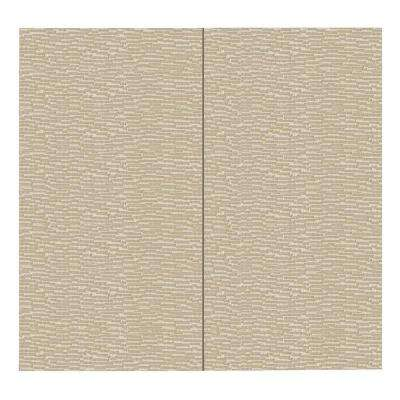 64 sq. ft. Driftwood Fabric Covered Full Kit Wall Panel