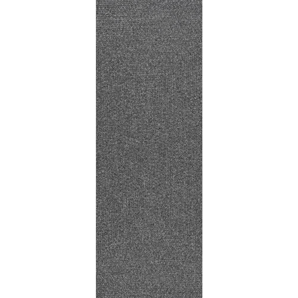 Lefebvre Charcoal 2 ft. 6 in. x 12 ft. Runner Rug