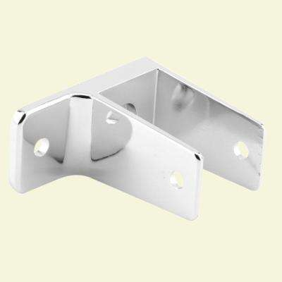 Chrome 1 Ear Wall Bracket