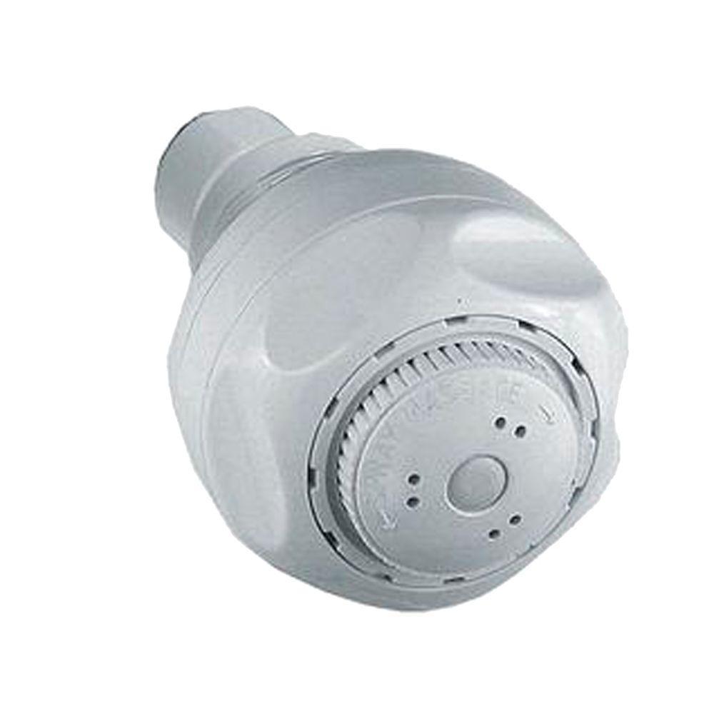 Delta Water Efficient 3-Spray 1.5 GPM 2-21/32 in. Showerhead in ...