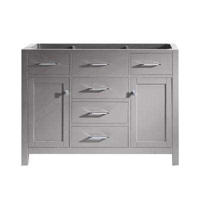 Caroline 48 in. W x 22 in. D Vanity Cabinet Only in Cashmere Grey