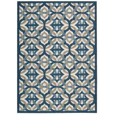 Tipton Celestial 8 ft. x 11 ft. Indoor/Outdoor Area Rug