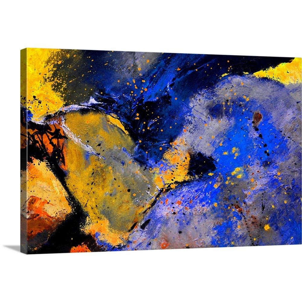 36 In X 24 In Abstract 31963 By Pol Ledent Canvas Wall Art