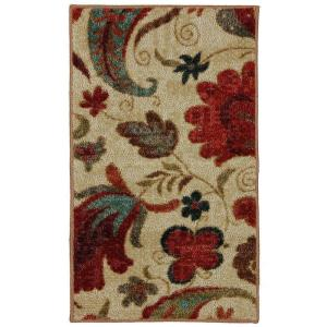 Mohawk Home Tropical Acres Multi 2 ft. 6 inch x 3 ft. 10 inch Accent Rug by Mohawk Home
