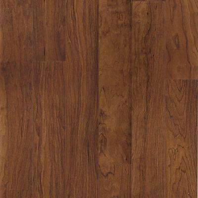 Tuscan Red Cherry Laminate Flooring - 5 in. x 7 in. Take Home Sample