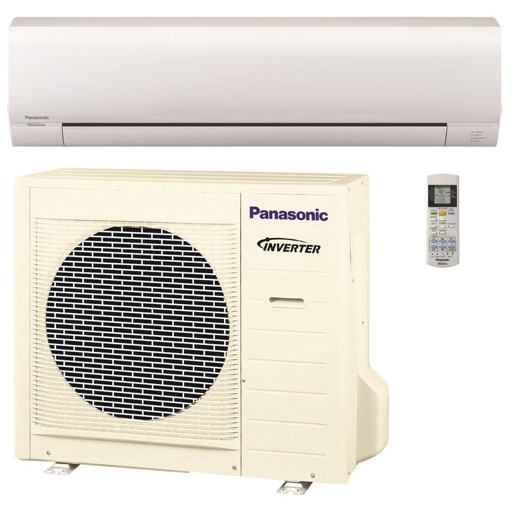 Panasonic 18 000 btu 1 5 ton pro series ductless mini for 18000 btu ac heater window unit