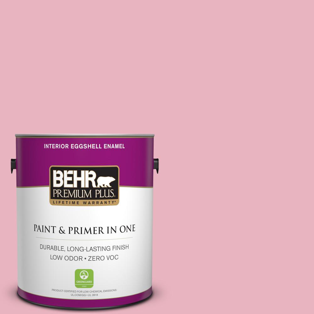 1-gal. #M140-3 Premium Pink Eggshell Enamel Interior Paint