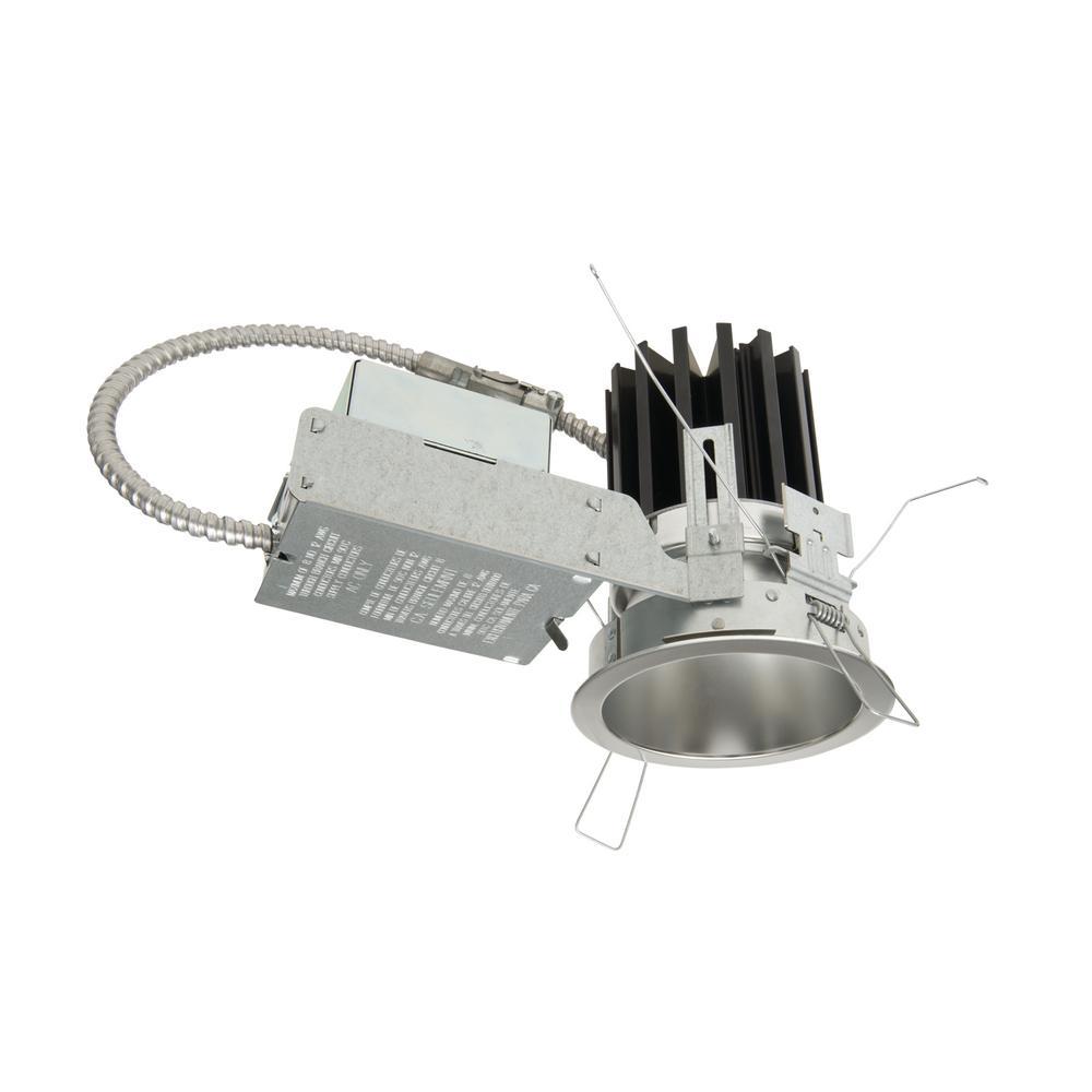 Portfolio 4 inch Haze Medium Beam Reflector with White Recessed Trim by Portfolio