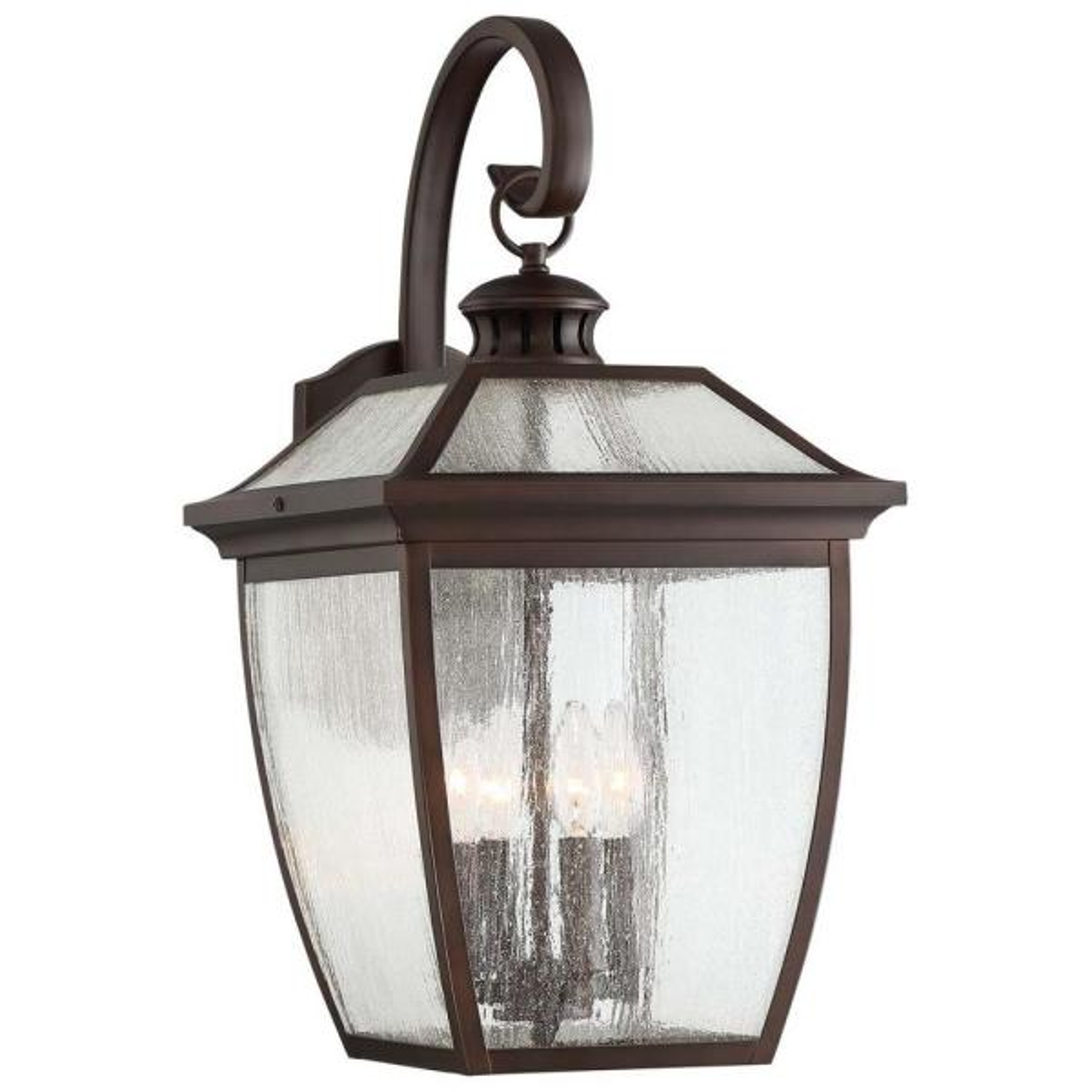 Sunnybrook 4-Light Alder Bronze Outdoor Wall Lantern Sconce