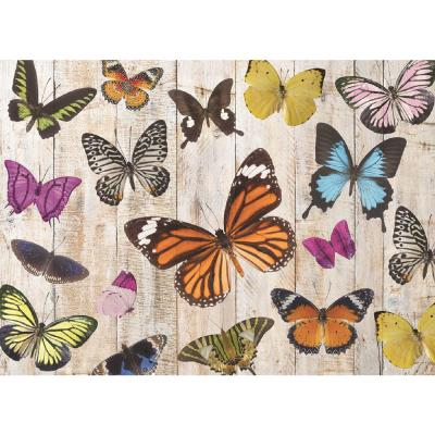 Butterfly 18 in. W x 13 in. L Polypropylene 4-pack Placemat Set