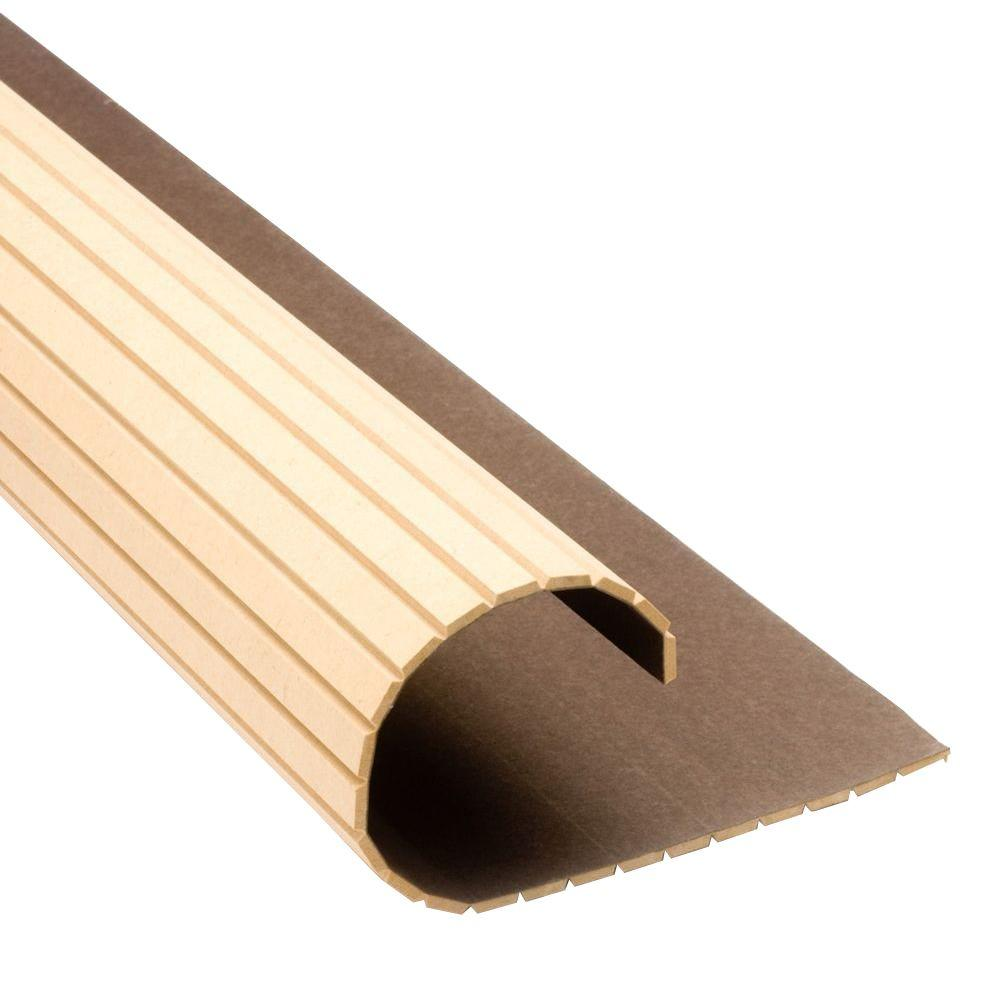 Pole-Wrap 48 in. x 12 in. MDF Basement Column Cover