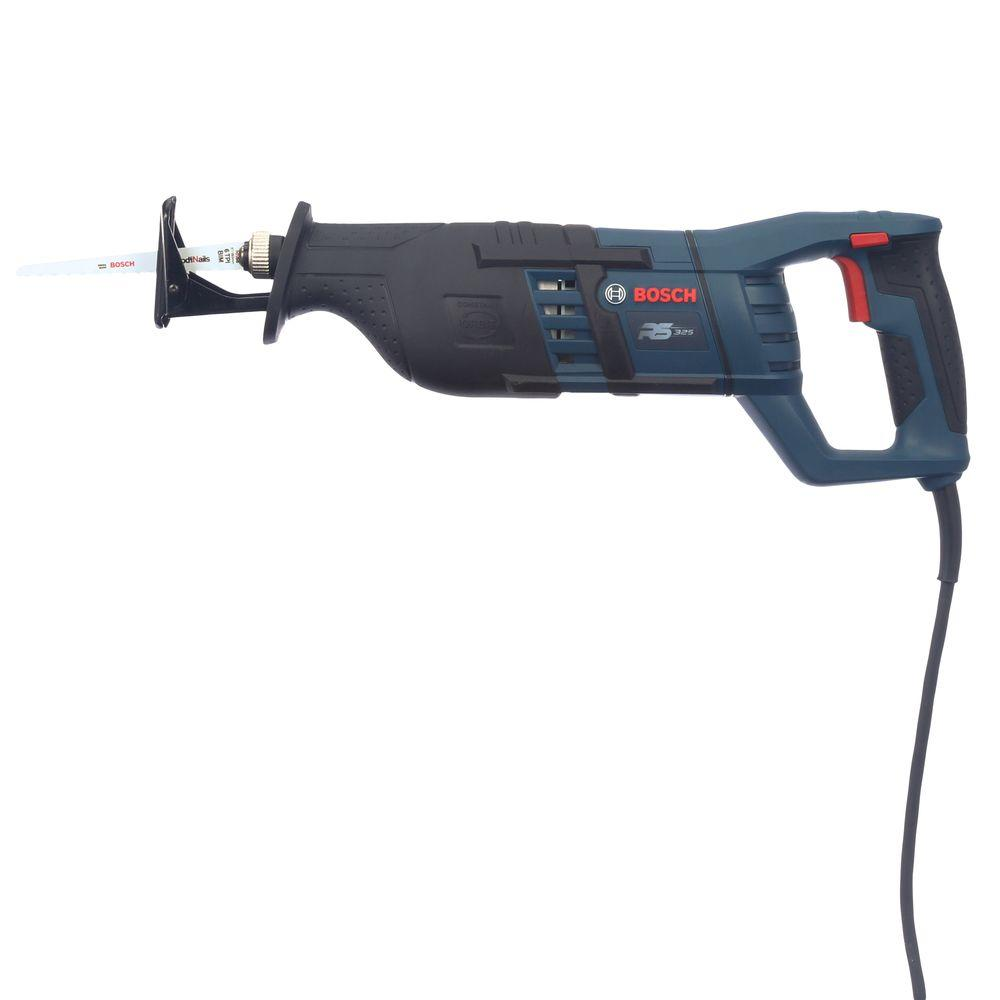 Bosch 12 amp corded 1 in variable speed compact reciprocating saw variable speed compact reciprocating saw with all purpose greentooth Image collections
