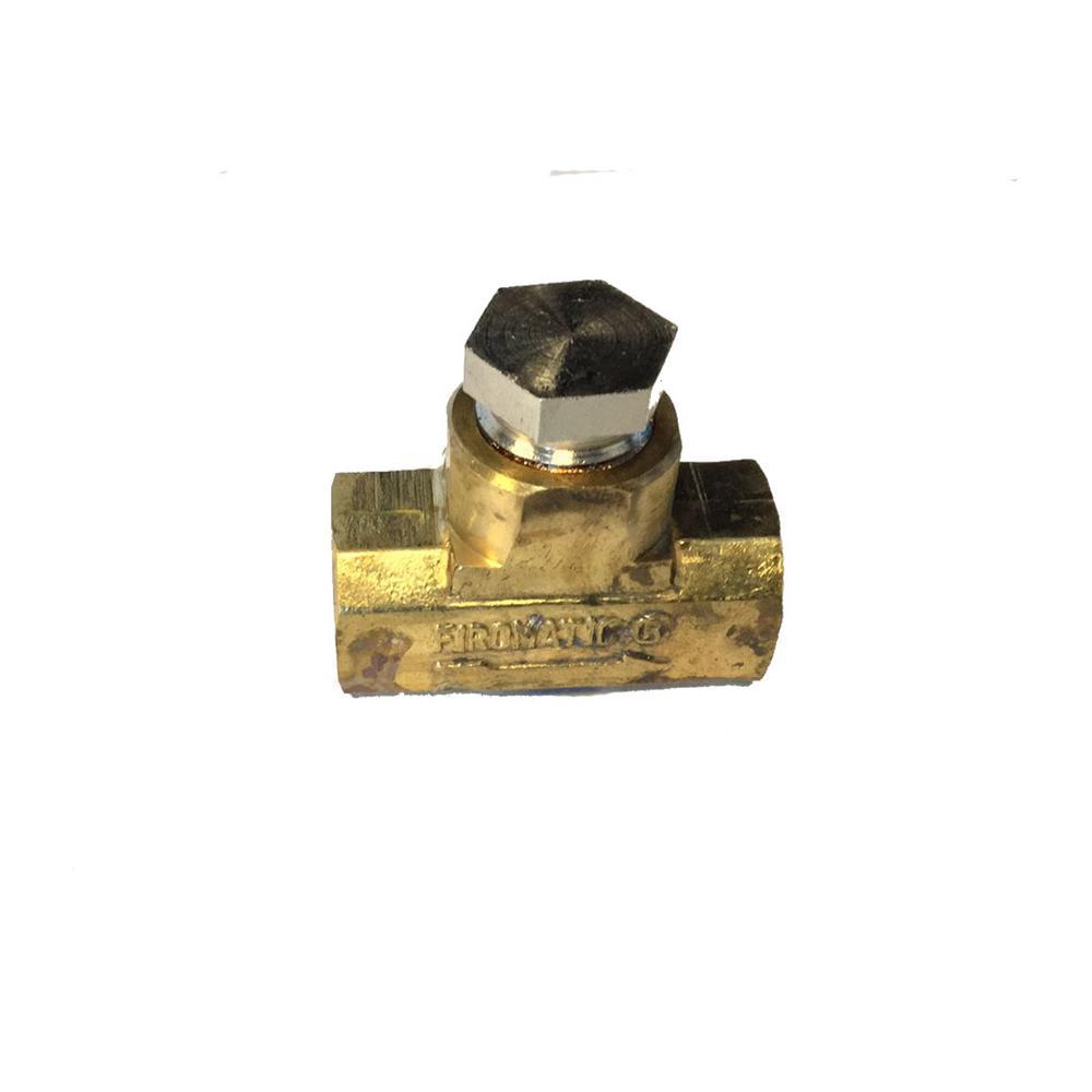 3/8 in. FPT X 3/8 in. FPT Brass Oil Check Valve