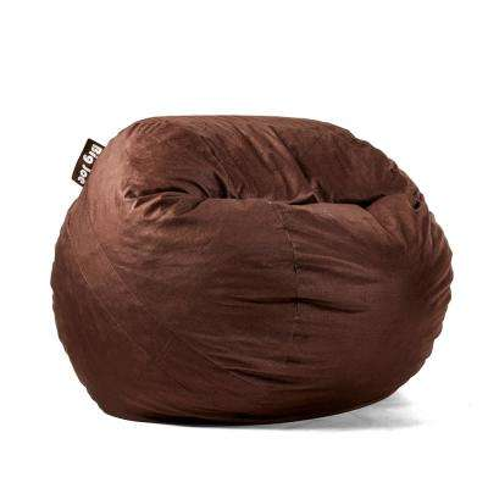 Medium FUF Shredded Ahhsome Foam Cocoa Lenox Bean Bag