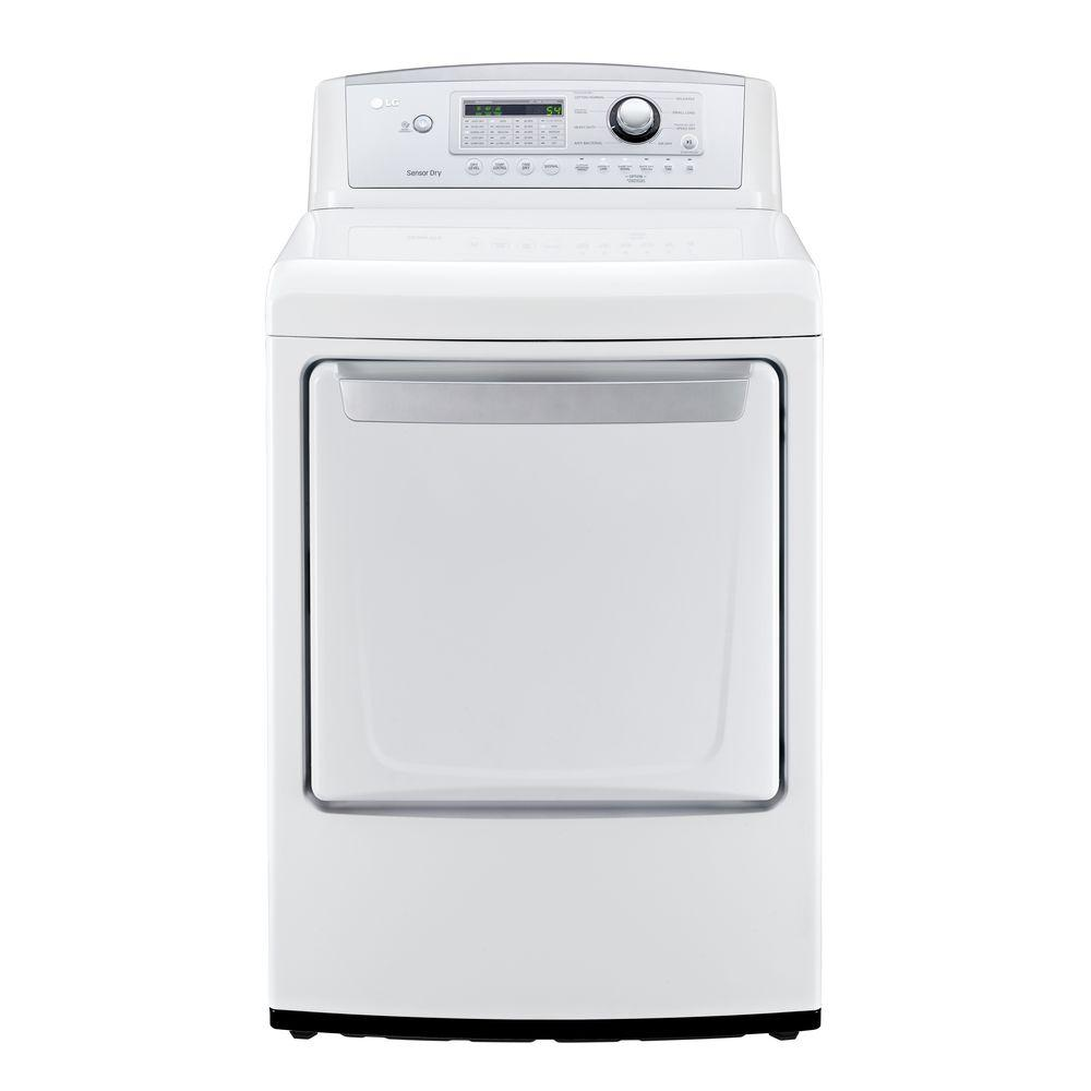 7.3 cu. ft. Gas Dryer in White